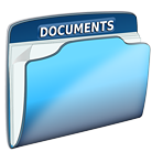 File folder labelled Documents